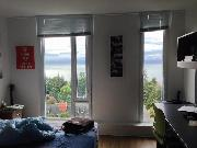 Ponderosa 1-bedroom Studio + Ocean View on UBC Campus for Summer